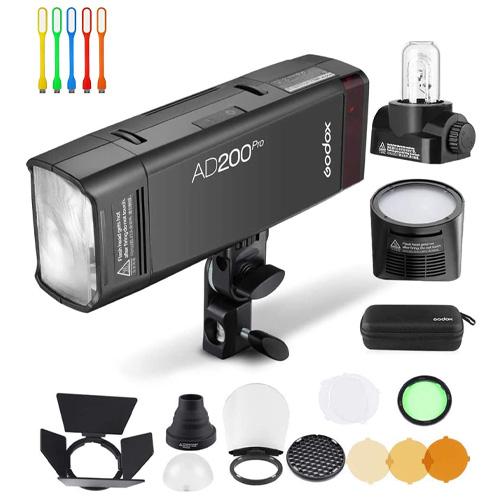 godox ad200pro ad200 pro pocket strobe flash, 200ws ttl hss 1/8000s