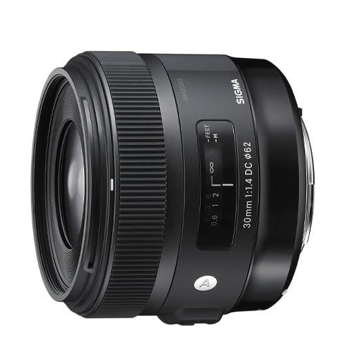 sigma 30mm f1.4 art dc hsm lens