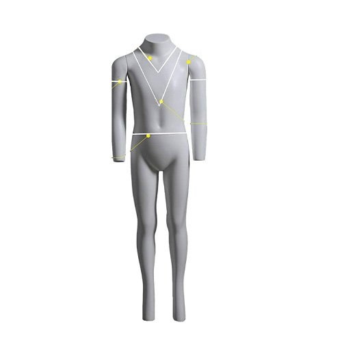 usakhv child kids unisex ghost invisible mannequin
